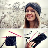 A headband with a twist made of thick wool is ideal as a knitting project for beginners. Here at Lisibloggt you get a free and …