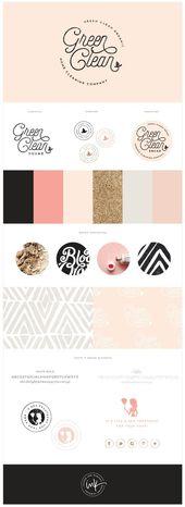 Lanzamiento de marca: Green Clean Co   – Brand Style Guide Inspiration