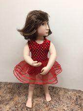 "A Girl for All Time Doll Dress Clothes Pattern for 16/"" AGAT Natterer Starlette"