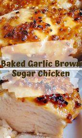 Baked Garlic Brown Sugar Chicken – Viral food