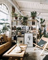 A Fabulous Vintage Inspired Loft in a Former Texti…
