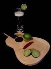 Custom Acoustic Guitar Cutting Board #1