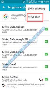 Bagaimana Cara Menghapus Salah Satu Akun Gmail Di Android hp ...
