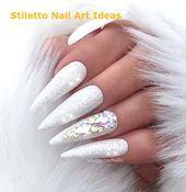 30 große Stiletto Nail Art Design-Ideen 1 # Stilettonail – Stylish Stiletto Nails