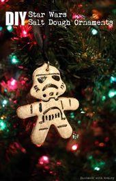 Diy Christmas Tree Star Salzteig 37 Super Ideen