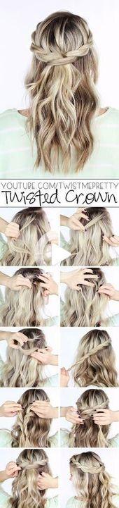The ten best hair tutorials on Pinterest, #on #best #the #hairstyle ideas #hair tutorial …