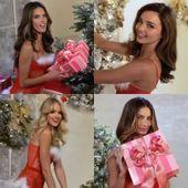 Photo of Weihnachtsbilder mit Victoria Angels | Beobachten Sie Miranda Kerr, Alessandra Ambrosi …