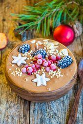 Lebkuchen-Smoothie-Schüssel   – Blogger Rezepte