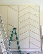 10+ superbes idées de murs d'accent que vous pouvez essayer à la maison …