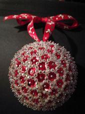 Photo of 75 hausgemachte Pailletten-Weihnachtsdekorationen, die blingy & hell sind – Hike n Dip