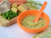 Poulet et légumes II (plus de 8 mois)   – baby food ideas