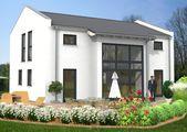 Hausidee Sattel- oder Satteldachhaus mit einer Wohnfläche von ca. 147 m²   – Haus-Ideen Satteldachhäuser