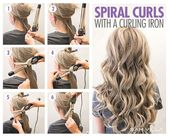 How to curl your hair – 6 different ways – Samantha Fashion Life
