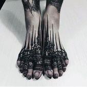 90 Fuß Tattoos für Männer – Schritt in männliche Design-Ideen – Tattoo