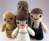 Amigurumi Star Wars Gratuit : Best crochet star wars images star wars