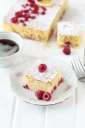 Lemon Raspberry Coffee Cake – Add this to the menu!