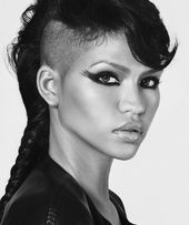 Celebrity Trend – 12 amazingly feminine, side-shaved haircuts