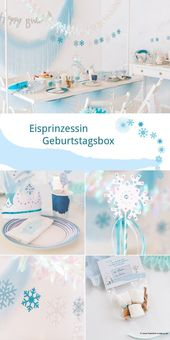 Neu im Shop: Eisprinzessin Geburtstagsbox – Katja Lüke