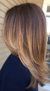 50 wunderschöne Balayage Haarfarbe Ideen für blondes kurzes glattes Haar, #balayage #BalayageHai …