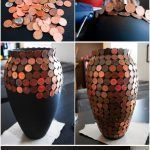 DIY table and floor vase decor with your own hands in the photo. How to decorate…