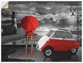 Premium Wandfolie »Mausopardia: Partnerlook mit Isetta«