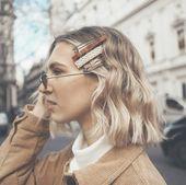 Alle Haarspangen-Haartrends 2019