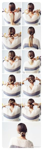 ▷ 87 easy low bun hairstyles and step by step instructions