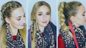 Fall hairstyles – Long hairs newly styled – #AVON, #AVONCosmetis, #Coole hairstyles, # hairstyles, # hairstyles braid