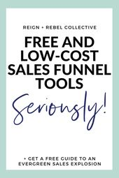 A sales funnel is step number one when it comes to…