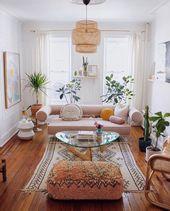 20+ Impressive Bohemian Living Room Ideas For Inspiration