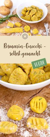 Rosmarin-Gnocchi – selbst gemacht – vegan