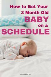 Des solutions faciles à votre routine de sommeil de 3 mois!   – Baby