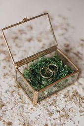 Anna y Maxim: boda minimalista de diseño ecológico   – Ringe Hochzeit