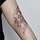 Blumengesteck für Patricia _______________. . . . #rachainsworth #tattooa …