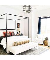 Glamorous White Bedroom Ideas  – Bedrooms