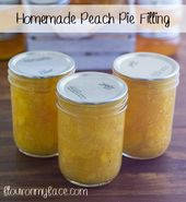 Genießen Sie das ganze Jahr über den Geschmack frischer Sommerpfirsiche mit diesem hausgemachten Pfirsich …   – canning