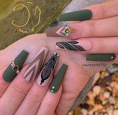 19 Ehrfürchtige Sargnagelentwürfe   – Coffin Nails Idead