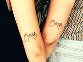 Small friendship tattoos
