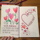 February – Bullet Journal – Month-to-month Planning – Bullet Doodles