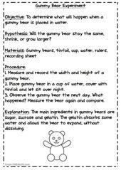 70 Trendy Science Fair Projects For Boys Gummy Bears