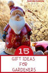 15 Gift Ideas for Gardeners