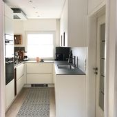 Our kitchen: small but nice # small kitchen