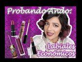 Probando Ando: Labiales economicos!! Catrice Moist N Wild NYX & Yuya!  | LauVi2 Vi…