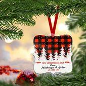 Personalisierte Großeltern-Verzierungs-Weihnachtsgeschenke für Großmutter von den besten Großeltern der Großkinder überhaupt   – Products