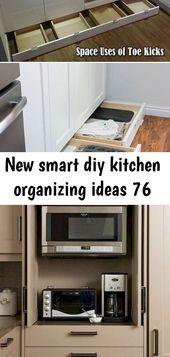 New smart diy kitchen organizing ideas 76