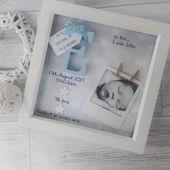 Neue Baby-Geschenke, Baby Boy Geschenk, Geschenke für Neugeborene, 1. Geburtstagsgeschenk, Patensohn Geschenk, Geschenk für Neffen, Baby Frame, personalisierte Andenken Kindergarten   – Baby shower ideas