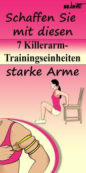 Schaffen Sie mit diesen 7 Killerarm-Trainingseinheiten starke Arme