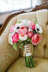 Der perfekte Blumenstrauß – 90 Fotos zur Inspiration! – Archzine.net  – Hochzeit
