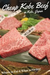 The place To Discover Reasonably priced Kobe Beef In Kobe, Japan