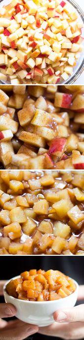 Slow Cooker Apple Pie Filling – das einfachste Rezept, das Sie jemals machen werden! Es & # 39 … – Apple Recipes